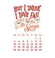 calendar for september 2 0 1 8 hand drawn vector image