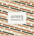 christmas of colorful retro stripe lines pattern vector image vector image