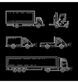 Freight transportation 01 vector image vector image