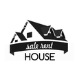 House logo design template Realty theme icon vector image vector image