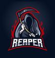 reaper logo vector image vector image