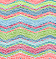 Seamless crochet pattern vector image