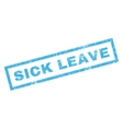 Sick Leave Rubber Stamp