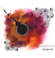 Stained Abstract Watercolor Background vector image vector image