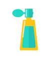yellow bottle colorful sketch vector image