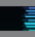 blue stripe overlap in dark background vector image vector image
