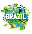 Brazil Carnival Poster vector image vector image