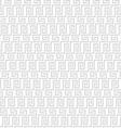 Grey geometric maze seamless pattern vector image vector image