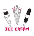 Ice Cream 3 vector image