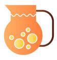 juice jug flat icon fresh beverage color icons in vector image vector image