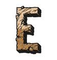 desert alphabet letter e colorful template