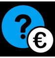 Euro Balance Query Icon vector image