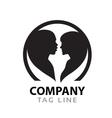 Interacial Love Logo vector image vector image