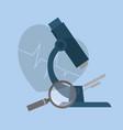 medical service design vector image vector image