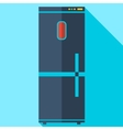 Modern flat design concept icon refrigerator vector image vector image