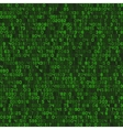 Seamless Green Decimal Computer Code Background