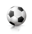 Soccer ball football icon vector image vector image