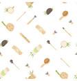 zero waste seamless pattern in minimalism vector image vector image