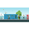 container office vector image