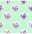 diamonds abstract seamless pattern vector image