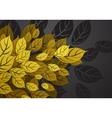 Autumn balckground vector image