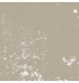 Beige Distress Texture vector image vector image