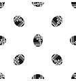 big easter egg pattern seamless black vector image vector image
