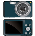 compact digital camera vector image vector image