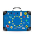 Europa vector image vector image