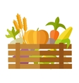 Fresh Vegetables at the Market vector image vector image