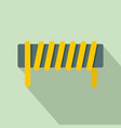 induction spring coil icon flat style vector image