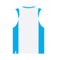 isolated sport uniform vector image vector image
