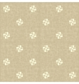 Seamless floral pattern Flowers rustic texture vector image vector image