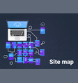 site map suitable for info graphics websites and