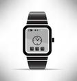 smart watch wearable technology eps 10 vector image vector image