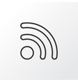 wireless connection icon symbol premium quality vector image vector image