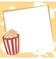 Advertisement invitation card vector image vector image
