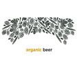 card organic beer twig hop wheat grain