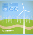clean alternative energy concept vector image vector image