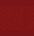 red pixel background vector image vector image