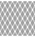 seamless japanese pattern shoji kumiko in black vector image