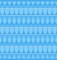 seamless pattern with amphora vector image vector image