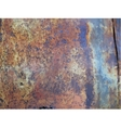 texture of rusty metal vector image