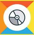 vinyl colorful outline symbol premium quality vector image vector image