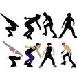roller skaters - vector image