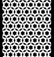 black and white seamless ornament texture vector image