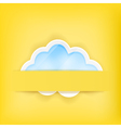 cloud background1A vector image vector image