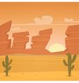 Desert Landscape vector image