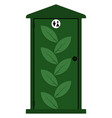 outdoor bio toilet vector image