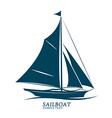 sailboats vector image vector image